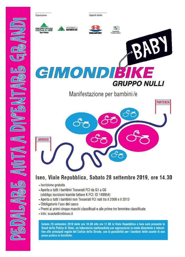 Locandina GimondiBike Baby